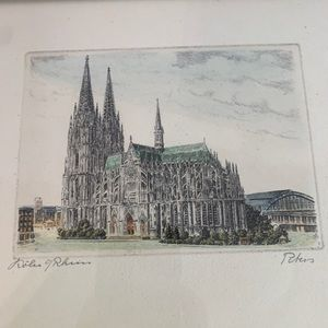 Vintage Cathedral Art